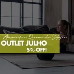 Outlet Julho 5% OFF