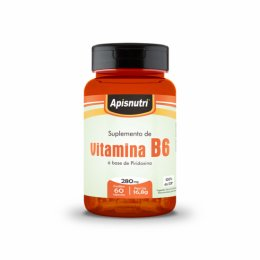 Vitamina B6 - 280mg (60 caps)