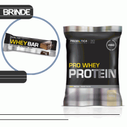 Pro Whey Protein (500g) + Whey Bar Low Carb (40g)