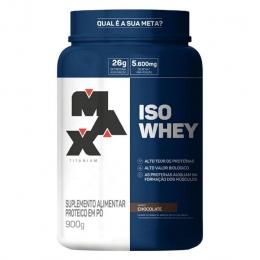 Iso Whey - 900g Chocolate - Max Titanium